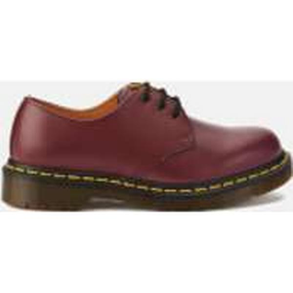 Dr. Martens 1461 Smooth Leather 3-Eye Shoes - 5 Cherry Red - UK 5 - - Red 1ebf5d