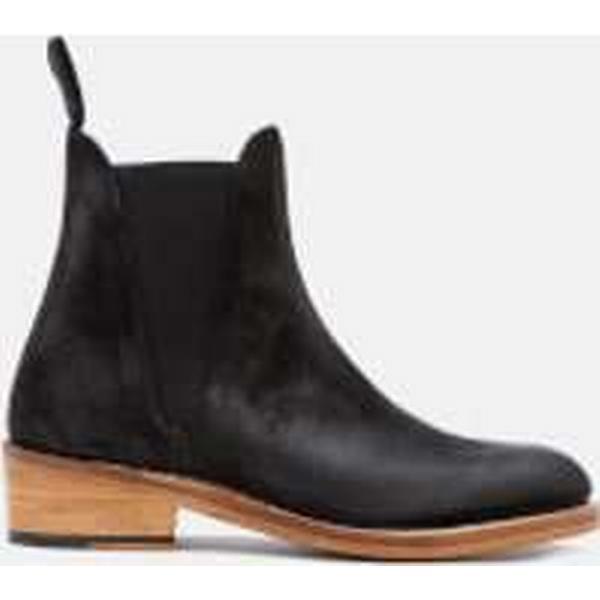 Grenson Women's Chelsea Nora Burnished Suede Chelsea Women's Boots - Black 38d143