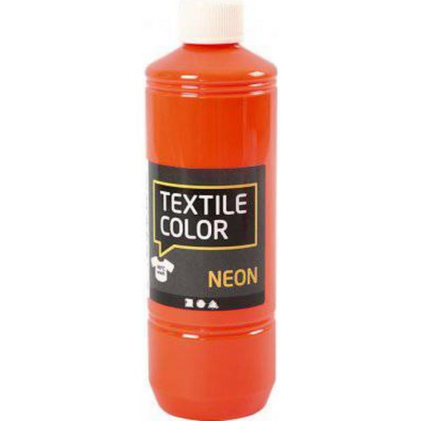Textile Color Paint Neon Orange 500ml
