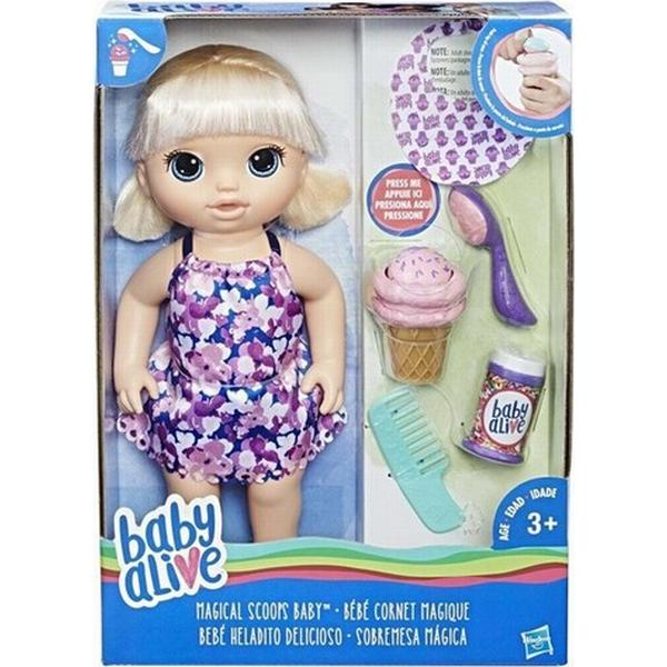 Hasbro Baby Alive Magical Scoops Baby Blonde Hair C1090