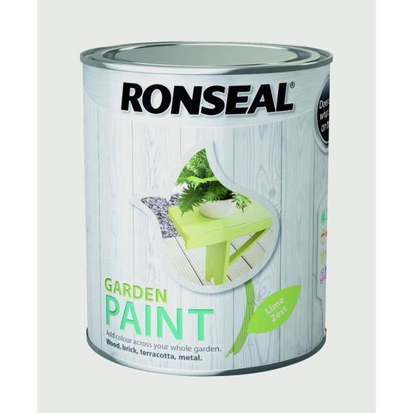 Ronseal Garden Wood Paint Green 0.75L