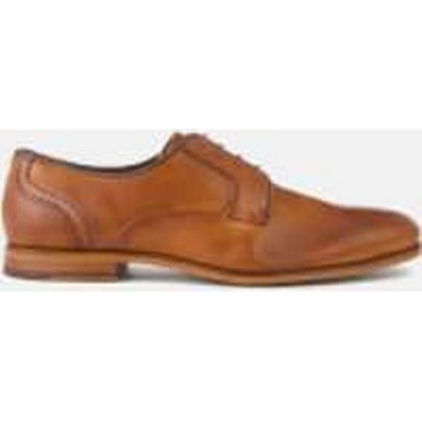 Ted Baker Men's Iront Tan Leather Derby Shoes - Tan Iront - UK 8 - Tan 1514b4