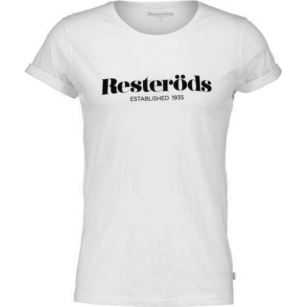 Resteröds Jimmy Logo T-shirt - White