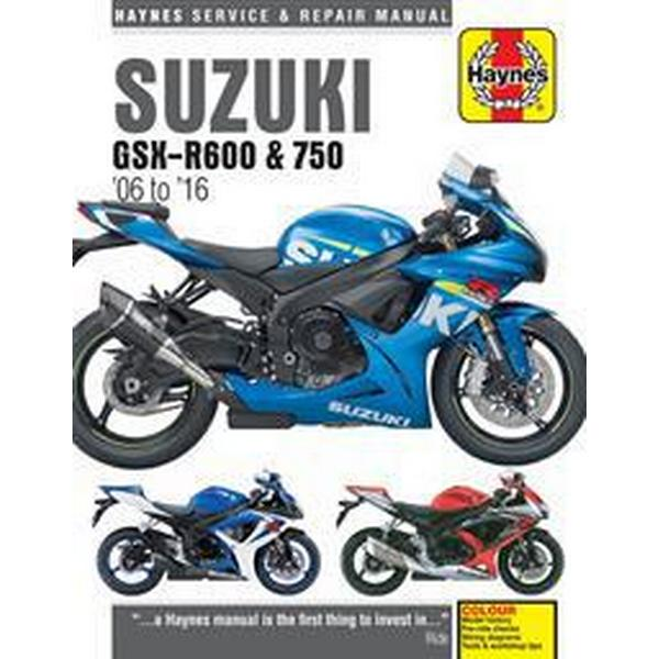 Suzuki GSX-R600 & 750 Service and Repair Manual 2006-2016 (Häftad, 2017)