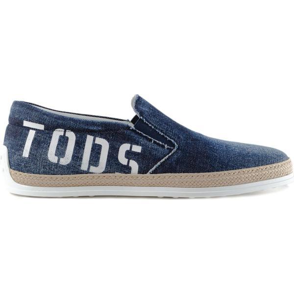 Tod's Logo Print Slip-on Sneakers Sneakers Sneakers 8c1eb3