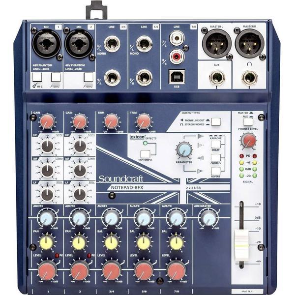 Notepad 8FX Sound-Craft