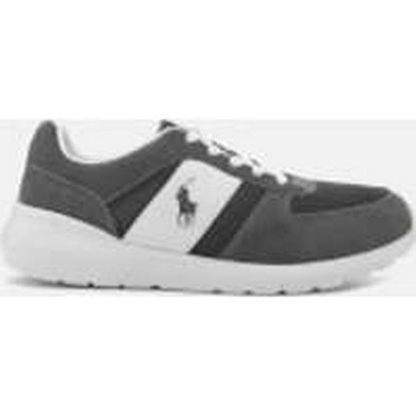 Polo Sportsuede/Gridmesh Ralph Lauren Men's Cordell Sportsuede/Gridmesh Polo Trainers - Charcoal Grey c70567
