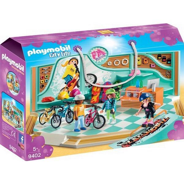 Playmobil Cykel og Skaterbutik 9402