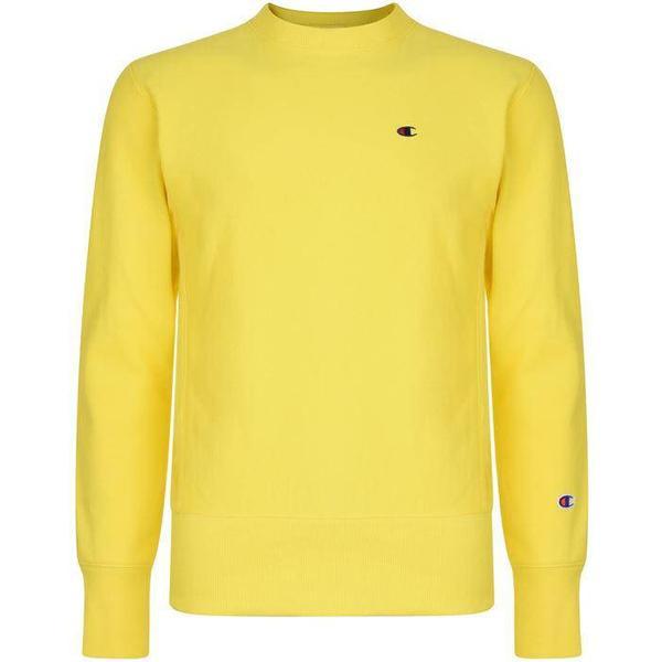 Champion Reverse Weave Sweatshirt Yellow