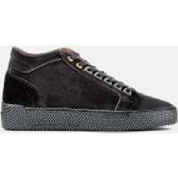Android Homme Men's Propulsion Mid Print Grey Velvet Trainers - Deep Grey Print 04fa9f