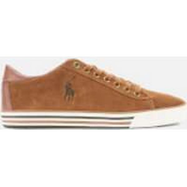 Polo Ralph Lauren - Men's Harvey Suede Low Top Trainers - Lauren New Snuff 5c87fc