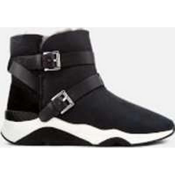 Ash Mochi Women's Mochi Ash Suede Boots - Black d41297
