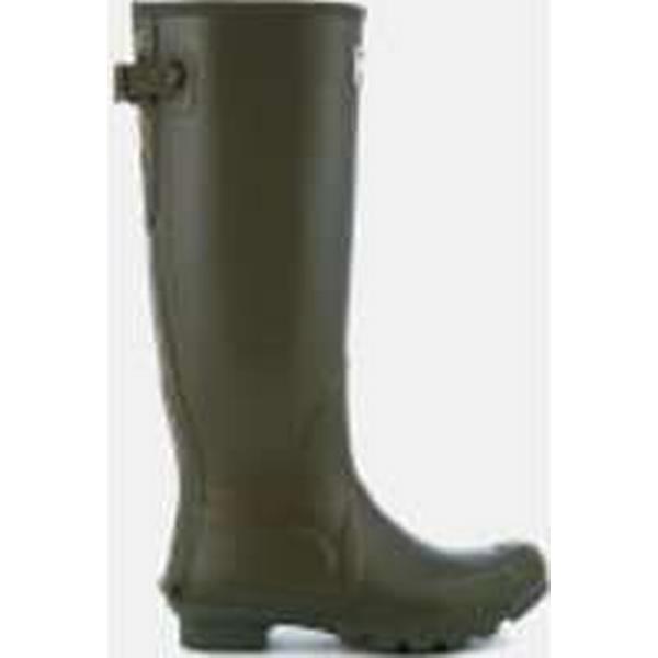 Barbour Women's Wellies Jarrow Adjustable Tall Wellies Women's - Dark Olive 873a93
