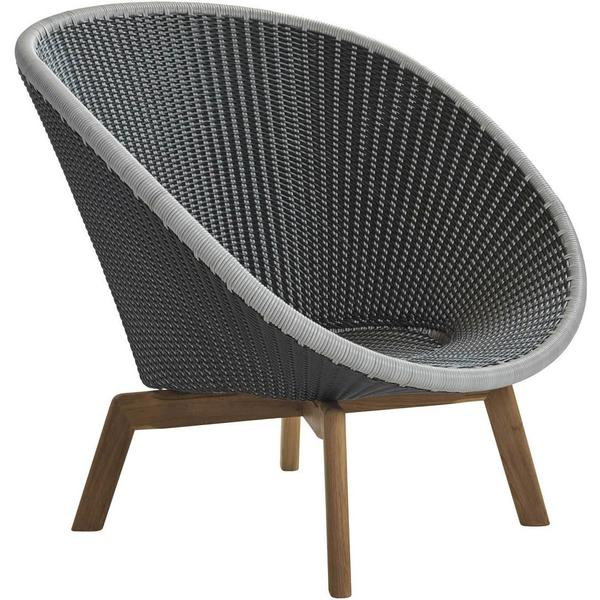 Cane-Line Peacock Lænestol