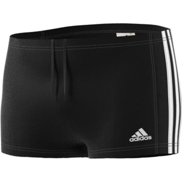 Adidas 3 Stripes Swim Boxer - Black/White