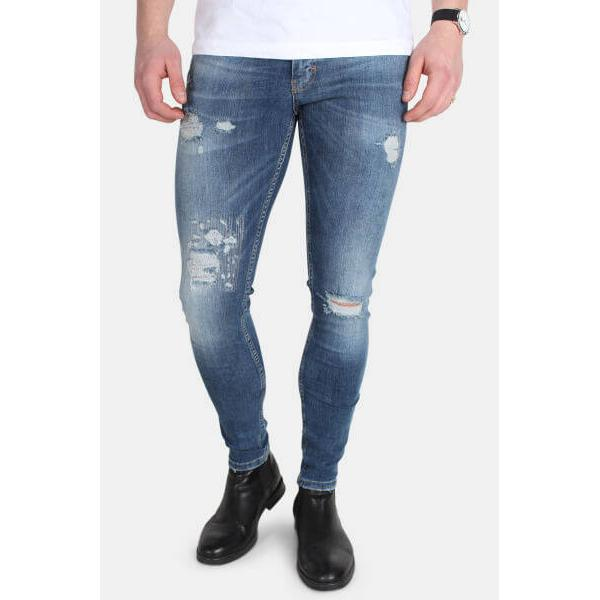 Just Junkies Max Flex-Ion Jeans F-01 - Blue