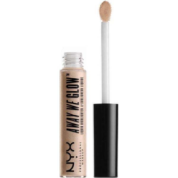 NYX Away We Glow Liquid Highlighter Crystal Glare