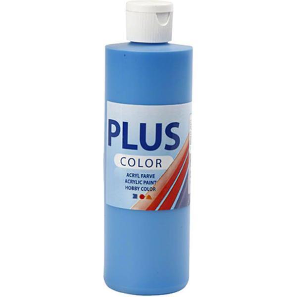 Plus Acrylic Paint Primary Blue 250ml