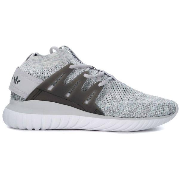 Adidas Originals Adidas Tubular Nova Nova Tubular Grey Sneaker With Glow-in-the Dark Yarn 264fab