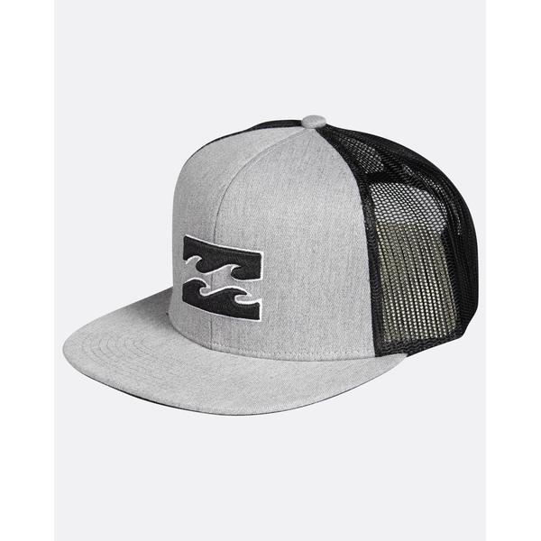 Billabong All Day Trucker Hat Grey Heather
