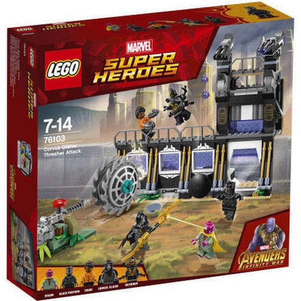 Lego Marvel Super Heroes Corvus Glaive Tærskerangreb 76103
