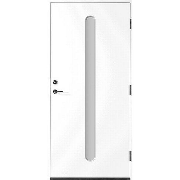 Polardörren Insikt Ytterdörr Klarglas S 0502-Y H (100x210cm)