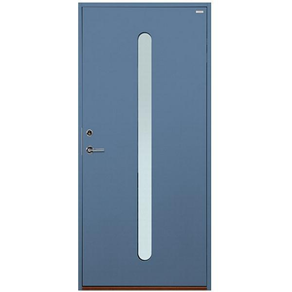 Polardörren Insikt Ytterdörr Klarglas S 5020-R90B H (90x210cm)