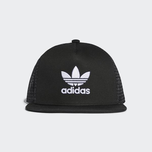 Adidas Trefoil Trucker Cap - Black