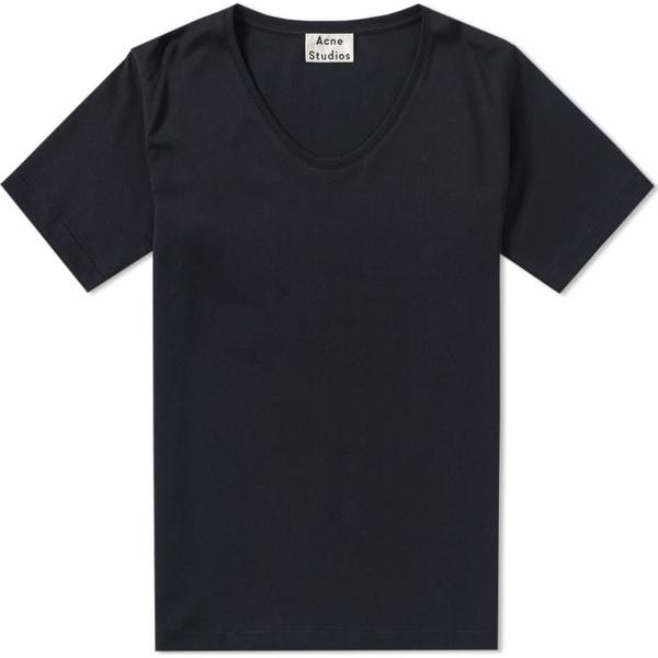 Acne Studios News T-shirt - Black