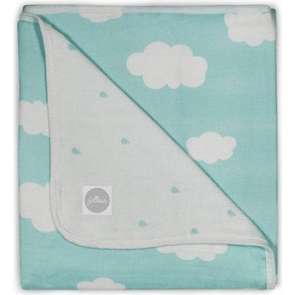 Jollein Blanket Knitted Clouds 75x100cm