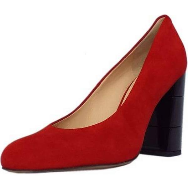 Högl Hogl EATON HOGL LADIES FASHION FASHION LADIES SHOES Size: 7.5, Colour: RED SUEDE 341f99