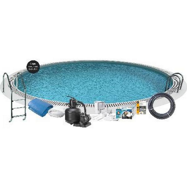 Swim & Fun Inground Round Pool Ø3.5x1.2m