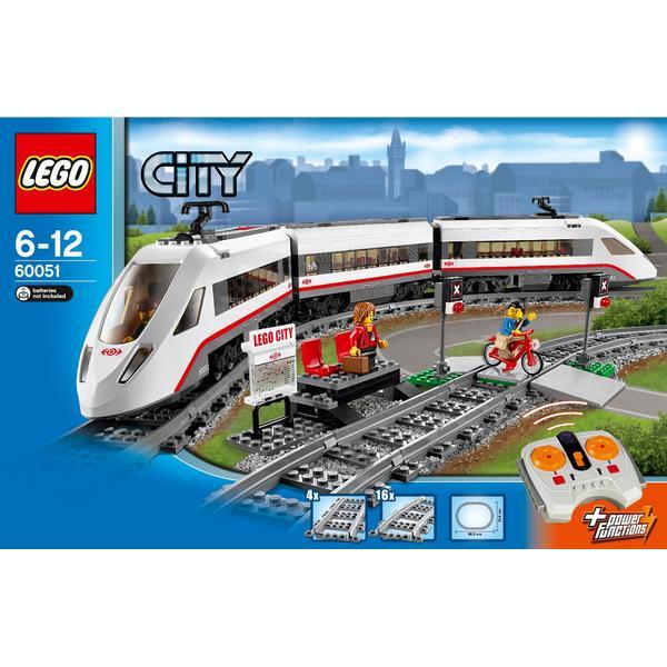 Lego City High Speed Passenger Train 60051
