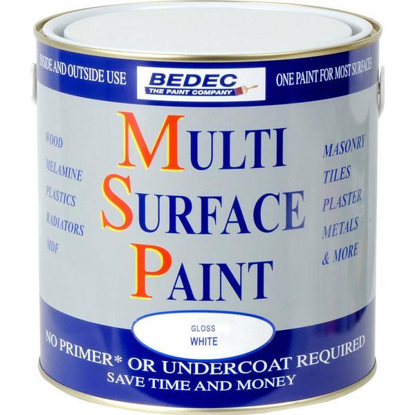 Bedec Multi Surface Wood Paint, Metal Paint Blue 0.75L
