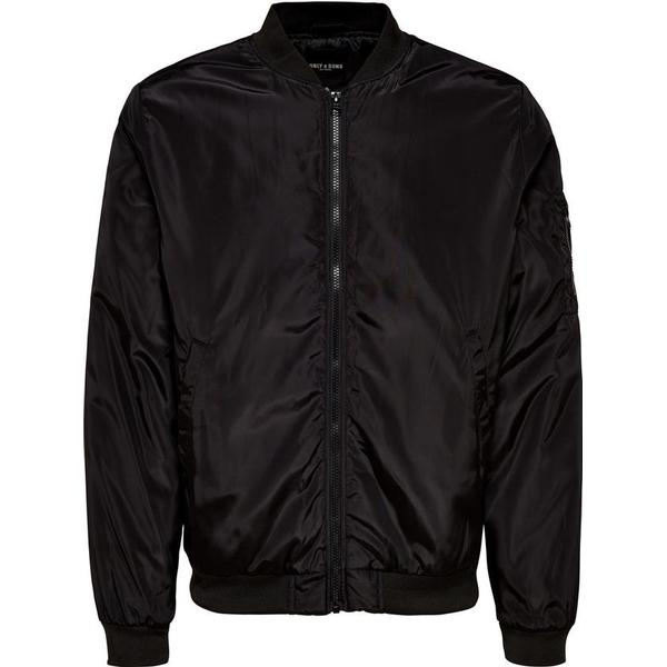 Only & Sons Bomber Jacket - Black