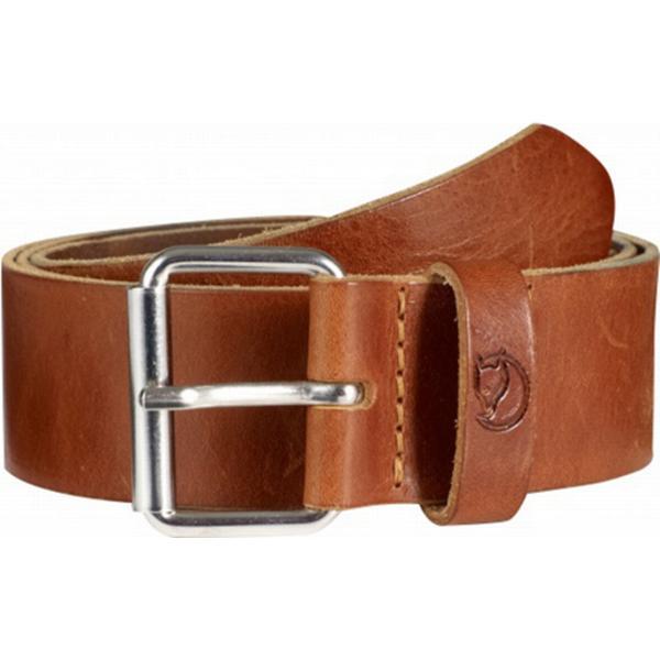 Fjällräven Singi Belt Unisex Leather Cognac