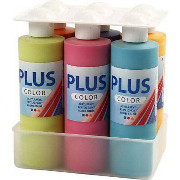 Plus Craft Paint Colourful 6x250ml