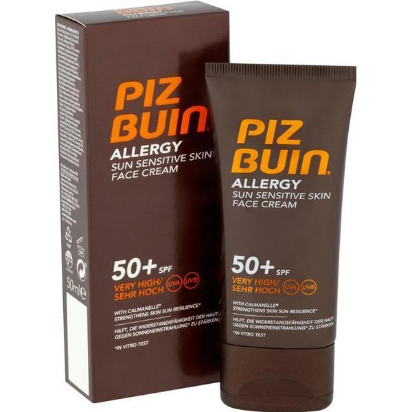 Piz Buin Allergy Sun Sensitive Skin Face Cream SPF50+ 50ml
