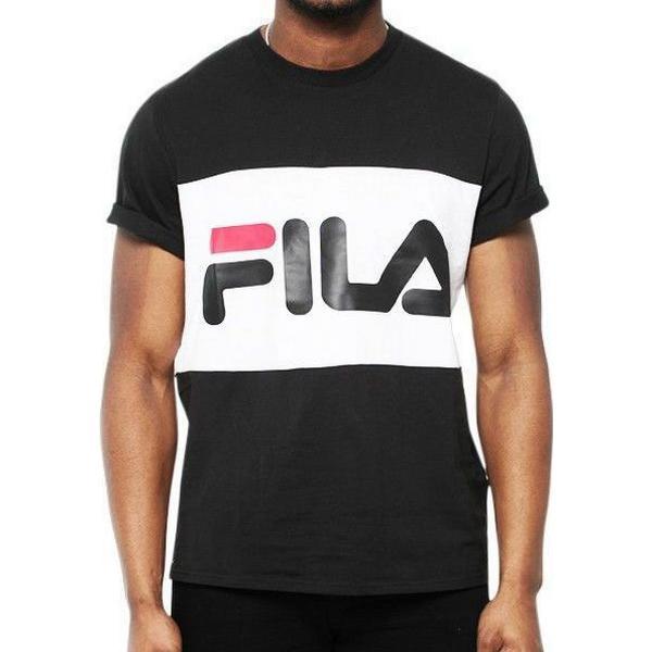 Fila Day Tee - Black/White