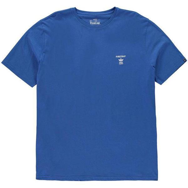 Firetrap Valdemosa T-shirt Turkish Sea