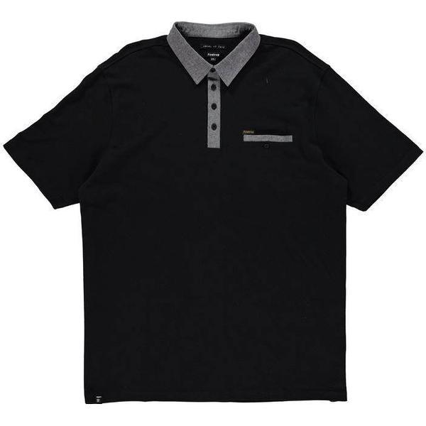 Firetrap Ojen Polo Shirt Black