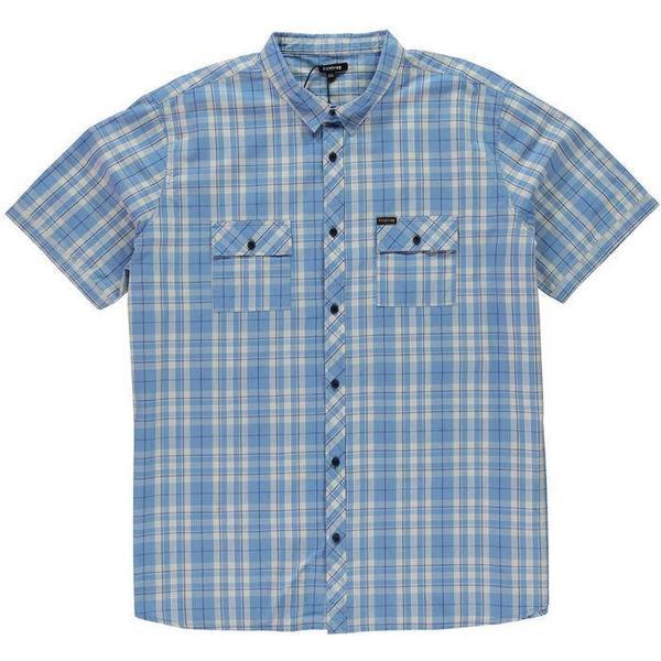 Firetrap Biscay Short Sleeve Shirt Silverlake