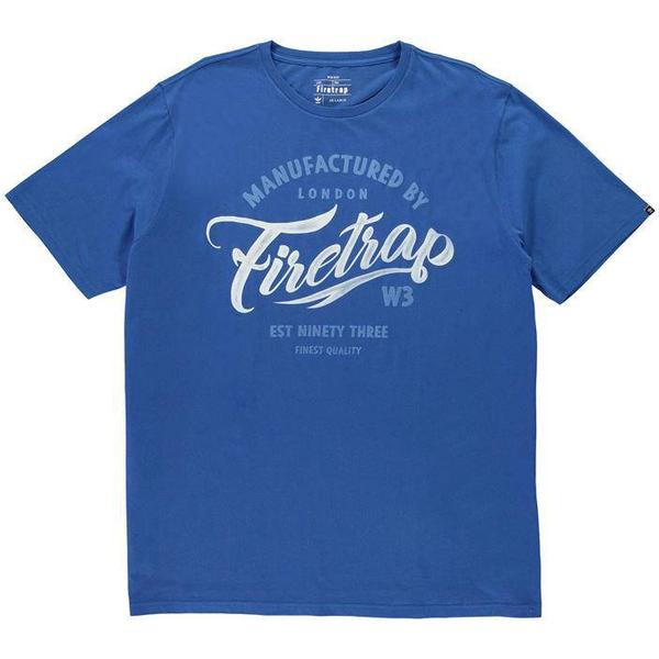 Firetrap Baza T-shirt Turkish Sea