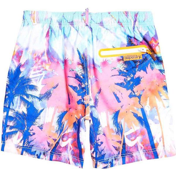 Superdry Premium Neo Swim Shorts Bright Palm