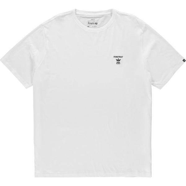Firetrap Valdemosa T-shirt White