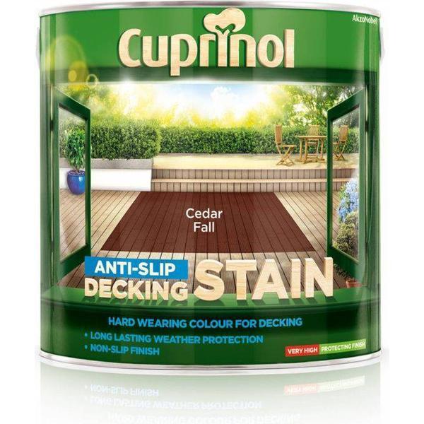 Cuprinol Anti Slip Decking Woodstain Brown 2.5L