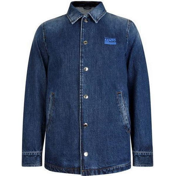 Kenzo Denim Jacket Navy Blue