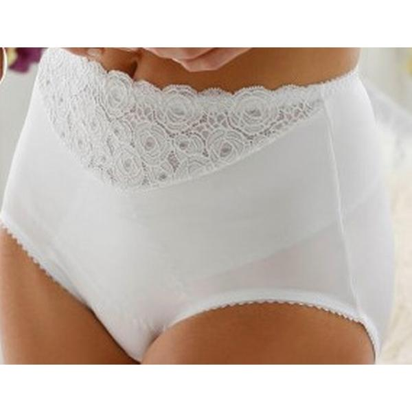 Miss Mary of Sweden Pantee Girdle White (4355)