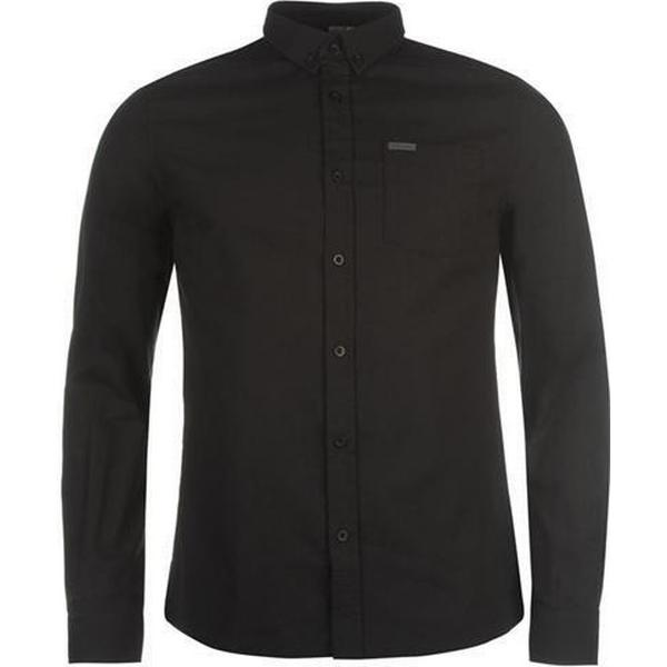 Firetrap Basic Oxford Shirt - Black