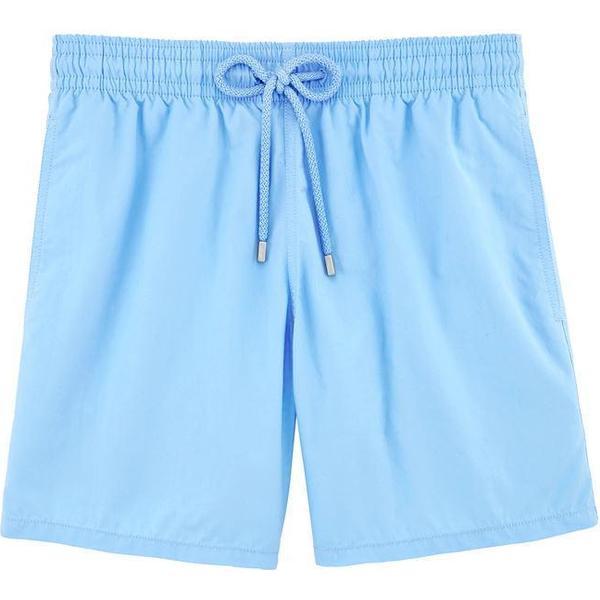 Vilebrequin Moorea Solid Swim Shorts Sky Blue